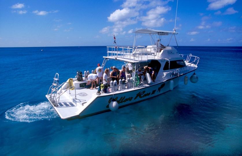 Islas Cayman, Bloody Bay, buseadores