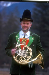 Bad Hofgastein, músico, retrato