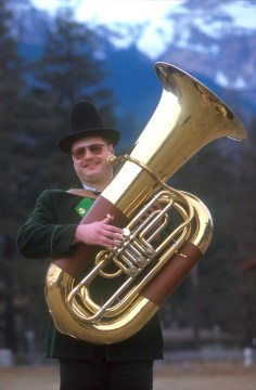 Tirol, Bad Hofgastein, Orquesta del Tiroll. retrato