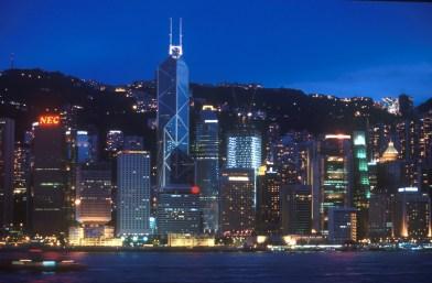 Hong Kong, isla de Hong Kong, nocturno
