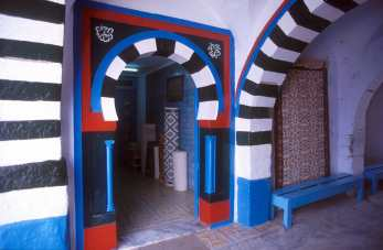 Túnez, Chemtou, La Medina, puerta