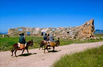 Túnez, Chemtou, Acueducto romano