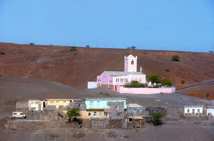 Cabo Verde, isla Santiago, pueblo de St Martinho Grande