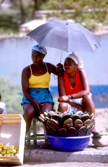 Cabo Verde, isla Santiago, mercado de Praia