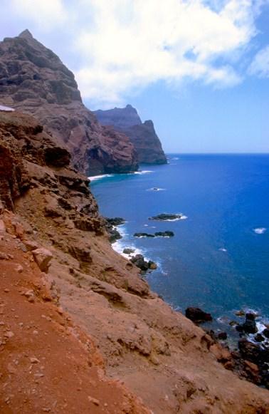 Cabo Verde, Isla Santo Antao, costa