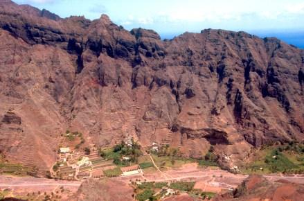 Cabo Verde, Isla Santo Antao, Ribeira das Fontainhas