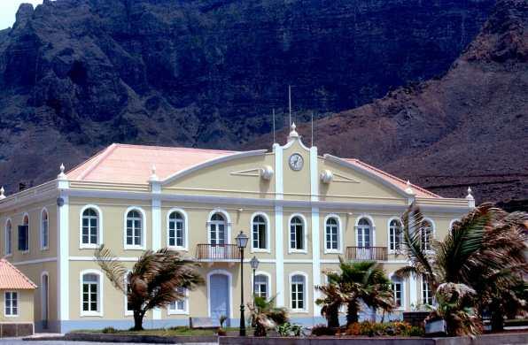 Cabo Verde, Isla Santo Antao. Ayuntamiento