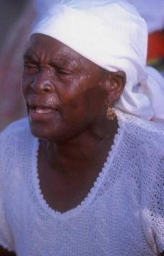 Cabo Verde, Isla Santiago, Tarrafal, Batucada, retrato