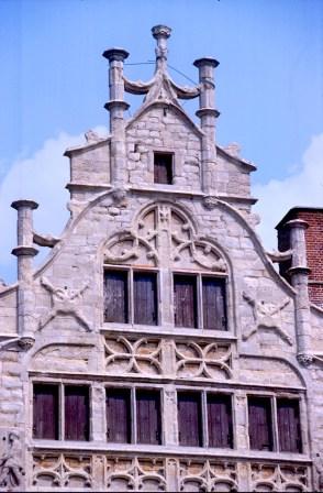 Bélgica, Flandes, Gante, casa de Gremio