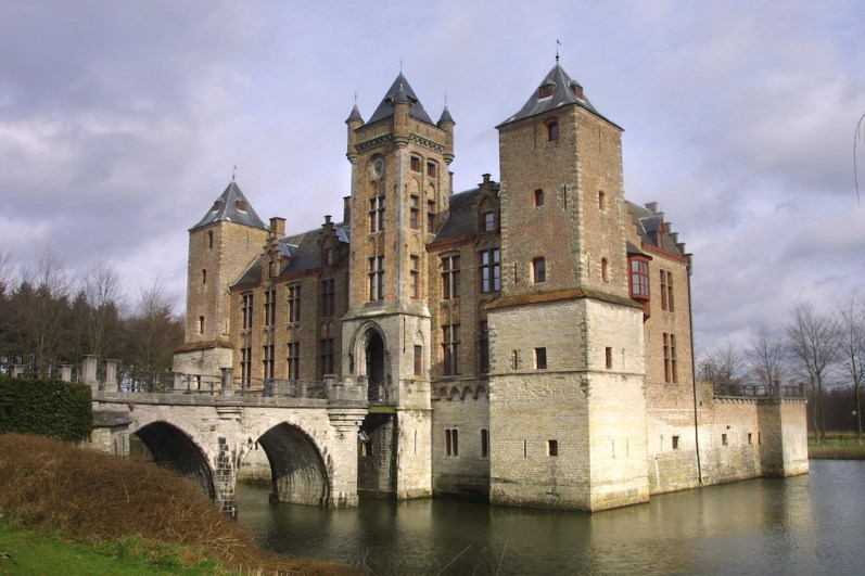 Flandes, Sant Michiels, Castillo Tillegem