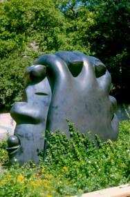Baja Sajonia, Hannover, Cabeza Grande 1980, escultura
