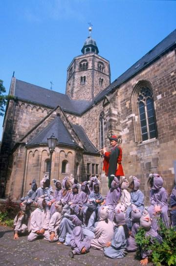 Baja Sajonia, Hamelin, el flautista de Hamelin, retrato
