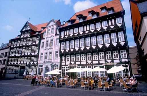 Alemania, Baja Sajonia, Hildesheim, plaza del Mercado