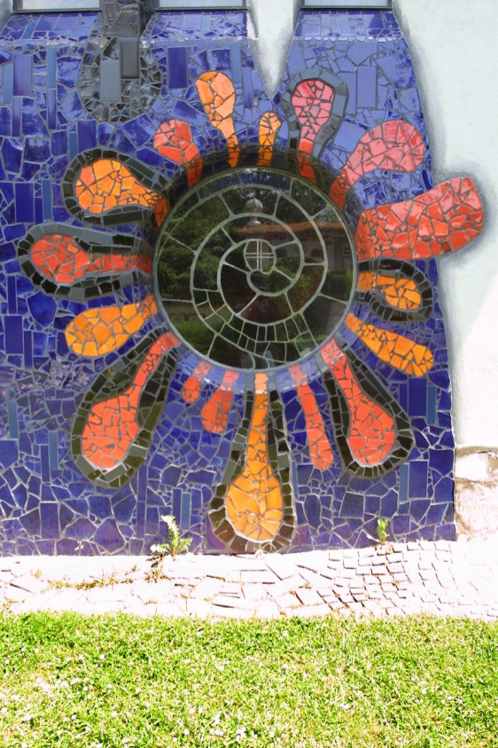 Austria, Estiria, Barnbach Arquitecto Hundertwasser