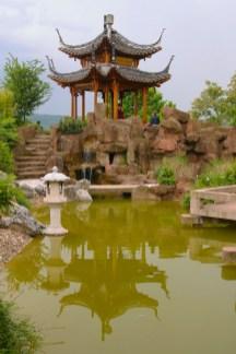 Alemania, Baden-Wurtemberg, Stuttgart, Jardines chinos