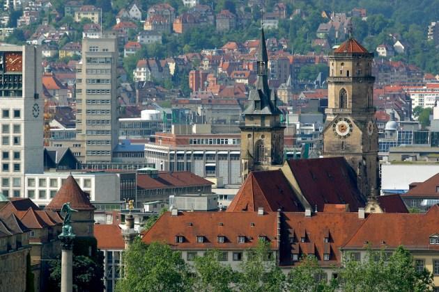 Alemania, Baden-Wurtemberg, Stuttgart, iglesia del convento