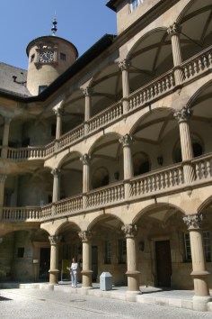 Alemania, Baden-Wurtemberg, Stuttgart, castillo viejo