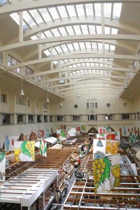 Alemania, Baden-Wurtemberg, Stuttgart, mercado frutas y verduras