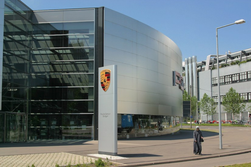 Alemania, Baden-Wurtemberg, Stuttgart, Stuttgart, barrio Zuffenhausen, empresa Porsche