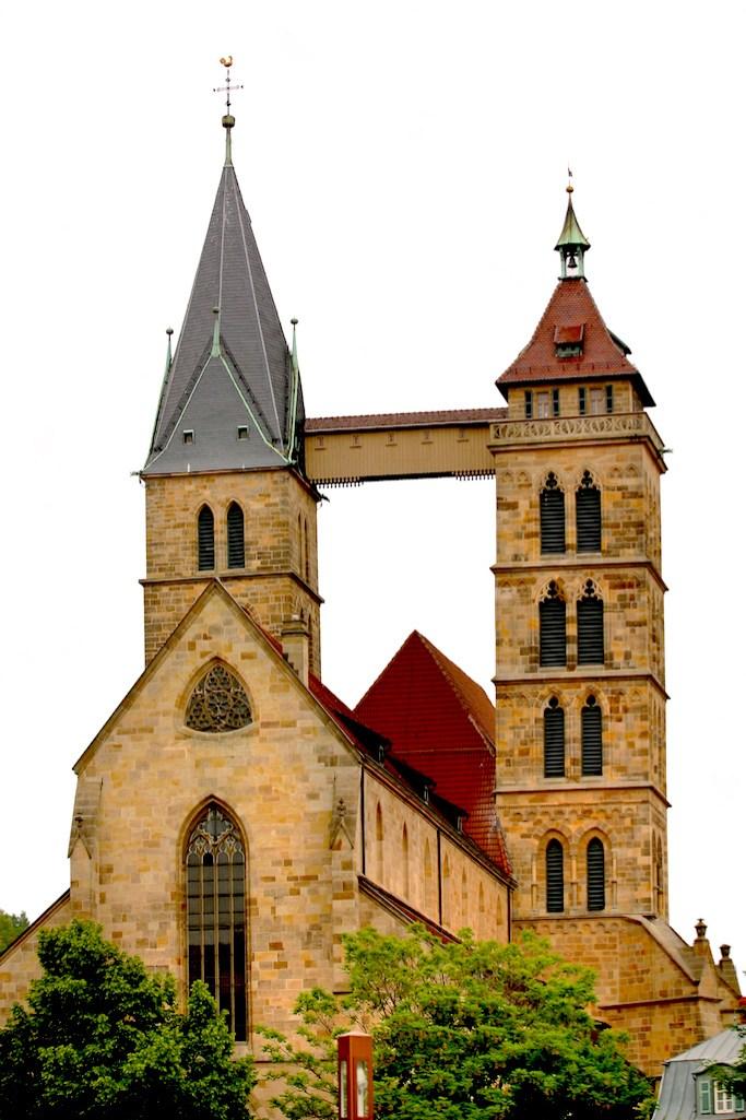 Alemania, Baden-Wurtemberg, Esslingen Am Neckar, Iglesia San Dionisio