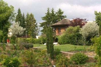 Alemania, Baden-Wurtemberg, Ludwigsburg, jardines barrocos, pabellón chino