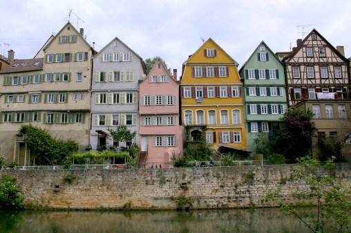 Alemania, Baden-Wurtemberg, Tübingen, río Neckar