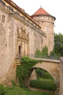 Alemania, Baden-Wurtemberg, Tübingen, entrada al castillo