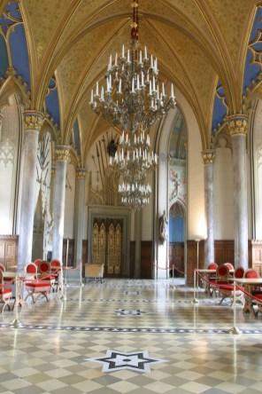 Alemania, Baden-Wurtemberg, Hechingen, castillo Hohenzollern, sala de los Condes