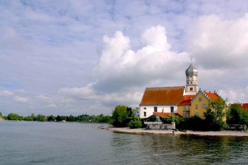Alemania, Lago de Constanza, Meersburg, iglesia san Jorge