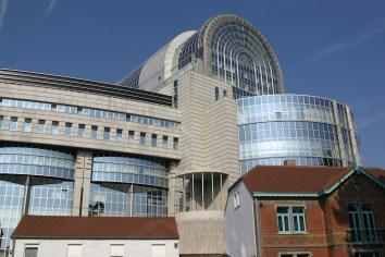 Bélgica, Bruselas, Parque Leopoldo, Parlamento Europeo