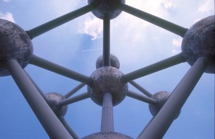 Bélgica, Bruselas, Parque Laiken, Atomium
