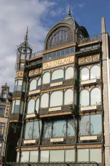 Bruselas, Monte de los Artes, Museo de los Instrumentos de Música