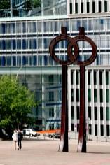 Alemania, Hamburgo, Museo de la Fotografía, escultura