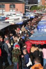 Alemania, Hamburgo, Festival del puerto de Hamburgo, carros de comidas