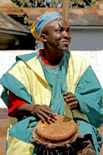 Camerún, Foumban,música tradicional