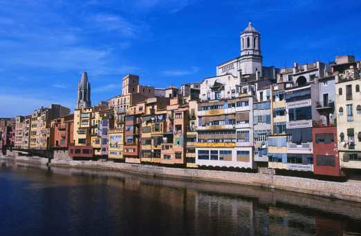 Catalunya, Girona, Rio Onyar