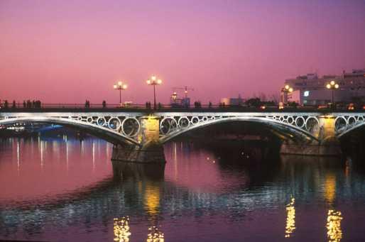 España, Sevilla, Rio Guadalquivir