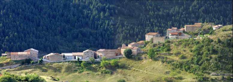 Catalunya, Alt Urgell, Valles de la Vansa i Tuixen, pueblo de AdraenAlt Urell,