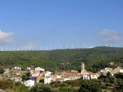 Catalunya, Priorat, La torre de Fontaubella