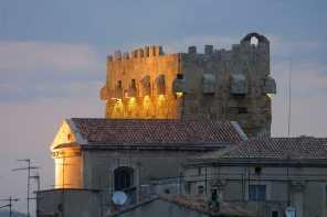Catalunya, Tarragona,Torre fortificada, Ciudad Romana Tarraco