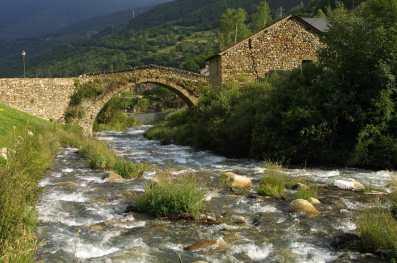 Catalunya, Pallars Sobirà, Espot, Río Escrita