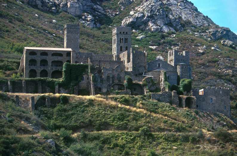 Catalunya, Alt Empordà, Port de la Selva, Monasterio Sant Pepre de Rodes