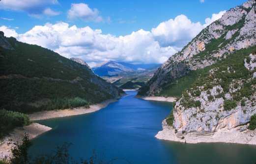 Catalunya, Alta Ribagorça, Embalse de Escale