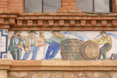Catalunya, Terra Alta, El Pinell de Brai, Bodega Cooperativa, Obra de Cèsar Martinell