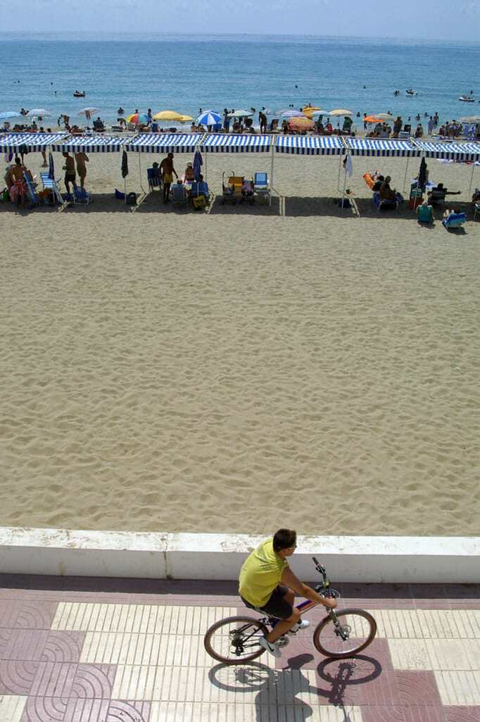 Catalunya, Baix Penedes Playa Sant Salvador