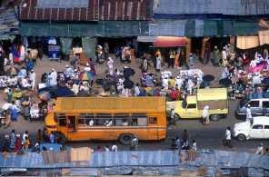 Nigeria, Ciudad de Lagos, mercado