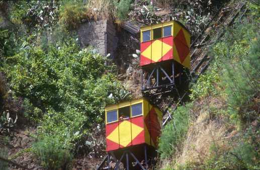 Chile, Valparaiso, Asensores,transporte