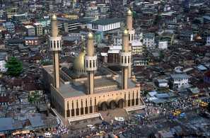 Nigeria, Lagos, Mesquita y Mercado