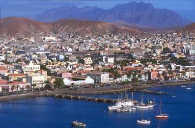 Cabo Verde, isla Sao Vicente. Puerto