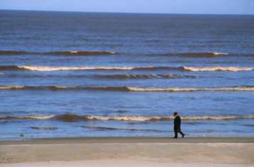 Uruguay, Montevideo, Playa Positos